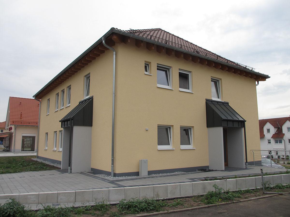 Beispiel Büro- und Wohngebäude