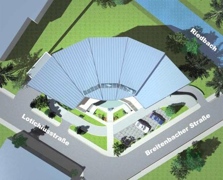 Lotichiusbogen Lageplan